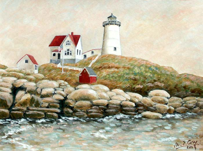 Nubble light (Cape Neddick - York)