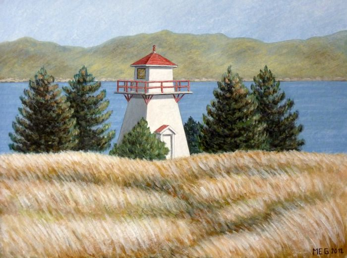 Le phare de Woody Point - Gros Morne