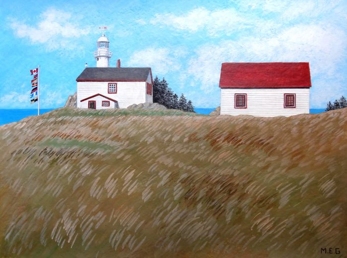 Lobster Cove Head lighthouse - Gros Morne